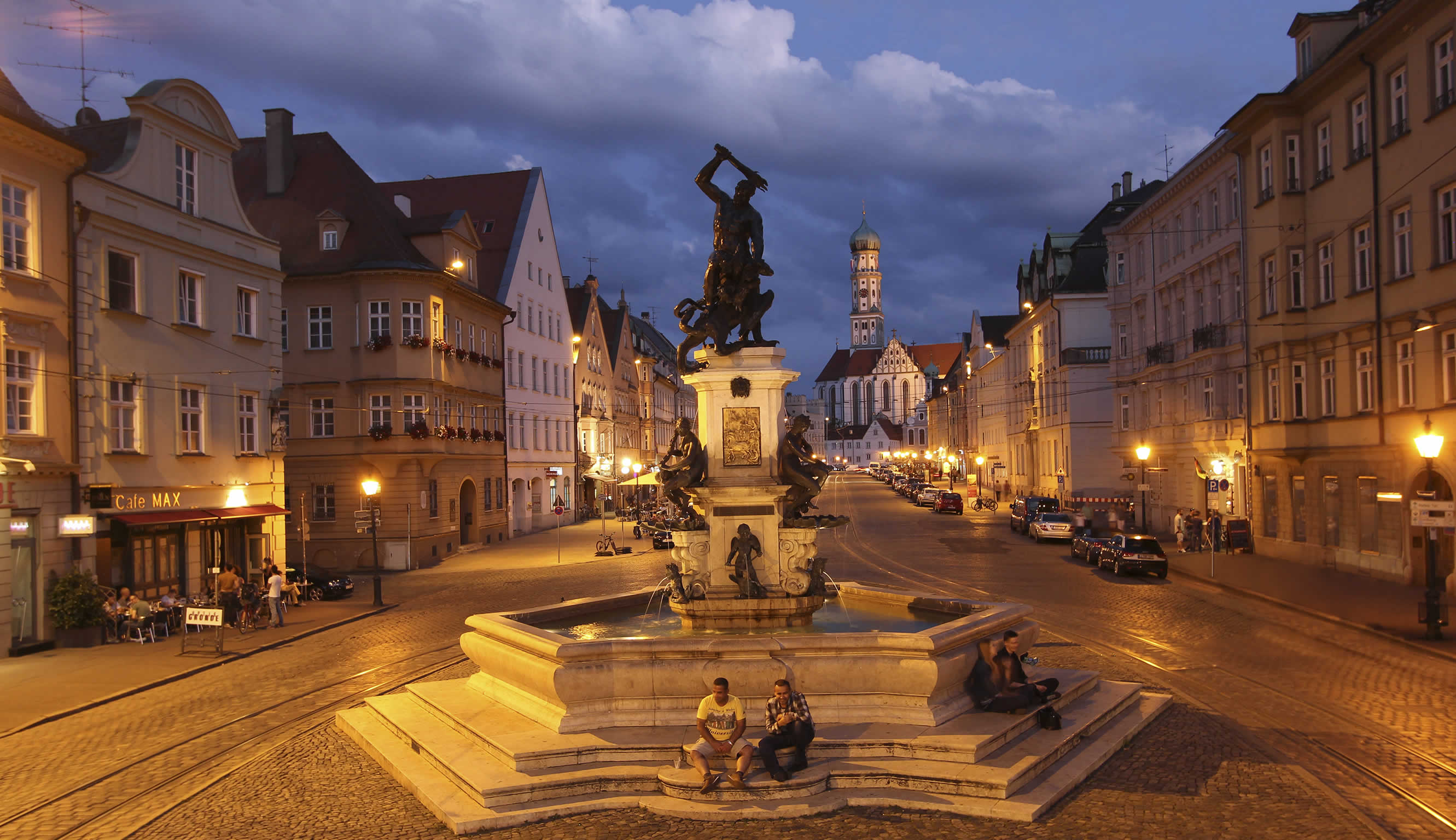Im Herzen der Augsburger Altstadt